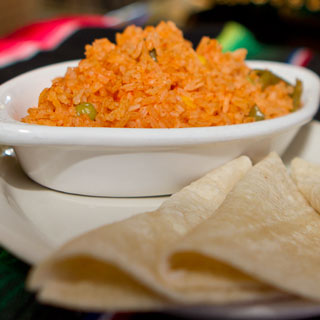 Arroz con Tortillas